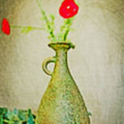 The Green Vase Art Print