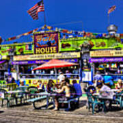 The Grill House Art Print