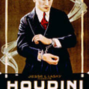 The Grim Game, Harry Houdini, 1919 Print by Everett