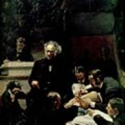 The Gross Clinic Print by Thomas Cowperthwait Eakins