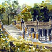 The Grotto Steps Art Print