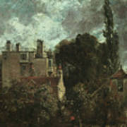 The Grove Or The Admiral's House In Hampstead Art Print