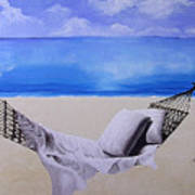 The Hammock Art Print