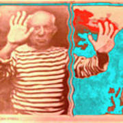 The Hands Of Picasso Art Print