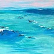 The Happy Beach Art Print