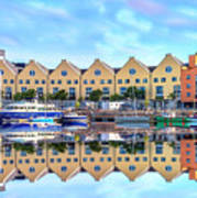 The Harbor At Galway Art Print