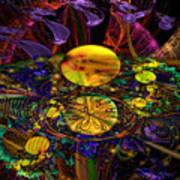 The Harmony Of Truly Cosmic Spheres Art Print