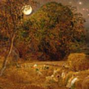The Harvest Moon Art Print