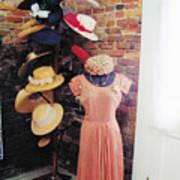 The Hat Rack Art Print