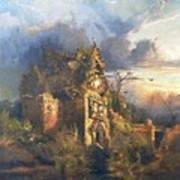 The Haunted House Art Print by Thomas Moran
