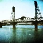 The Hawthorne Bridge Print by Cathie Tyler