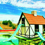 The Hazmat Water Park Art Print