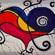 The Heart Don't Lie Art Print