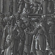 The High Priest Before Pilate [verso] Art Print