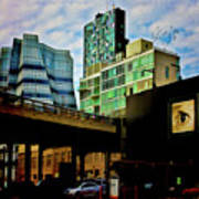 The Highline Nyc Art Print