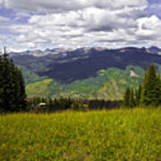 The Hills Are Alive In Vail Art Print