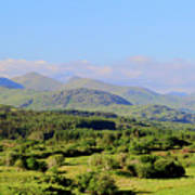 The Hills Of Southern Ireland Art Print