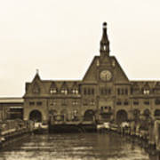 The Historic Crrnj Train Terminal Art Print