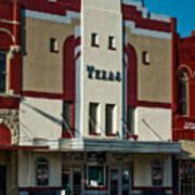 The Historic Texas Theatre Art Print