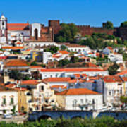 The Historic Town Of Silves In Portugal Art Print