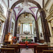 The Historical Church - Iglesia De La Salud Art Print