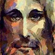 The Holy Face Of Jesus  Art Print