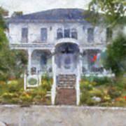 The Homes Of Mackinac Island Michigan 04 Pa Art Print