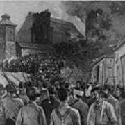 The Homestead Steel Strike Riot Art Print by Everett