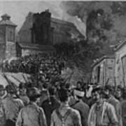 The Homestead Steel Strike Riot Print by Everett