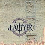 The Honest Lawyer Art Print