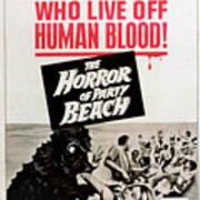 The Horror Of Party Beach, 1964 Art Print