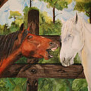 The Horse Whisperers Art Print