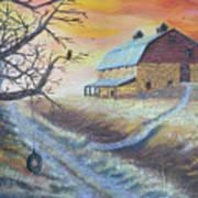 The Hott Ranch Art Print