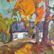 The House In Chervonka Village Art Print