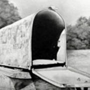 The Humble Mailbox Art Print
