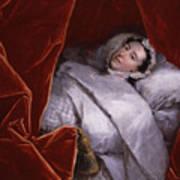 The Illness Of Actress Peg Woffington Art Print
