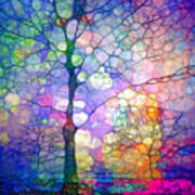 The Imagination Of Trees Art Print
