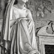 The Inconsolable Statue At Pisa Art Print