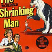 The Incredible Shrinking Man, Bottom Art Print by Everett