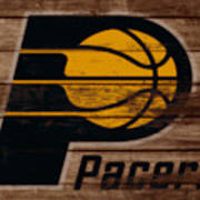 The Indiana Pacers 3b Art Print