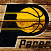 The Indiana Pacers 3c Art Print