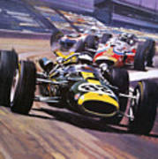 The Indianapolis 500 Art Print