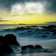 The Infinite Spirit  Tranquil Island Of Twilight Maui Hawaii  Art Print