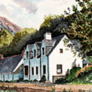The Inn Scotland Art Print