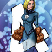 The Invisible Woman Art Print