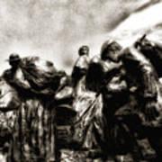The Irish Exodus Art Print