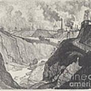 The Iron Mine Art Print