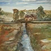 The Irrigation Canal Art Print