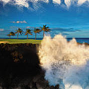 The Jack Nicklaus Signature Hualalai Golf Course Art Print