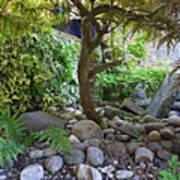 The Japanese Garden Art Print